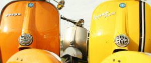 Vintage Vespa hire